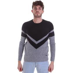 tekstylia Męskie Swetry Gaudi 021GU53082 Szary