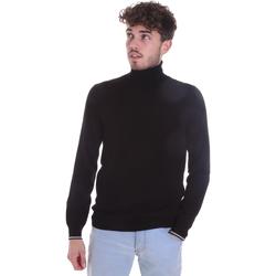 tekstylia Męskie Swetry Gaudi 021GU53003 Czarny