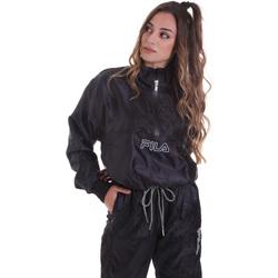 tekstylia Damskie Bluzy Fila 682874 Czarny