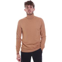 tekstylia Męskie Swetry Gaudi 021GU53003 Beżowy