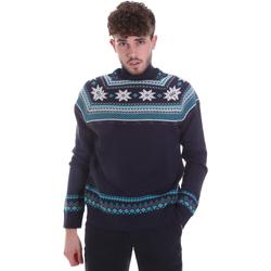 tekstylia Męskie Swetry Gaudi 021GU53046 Niebieski