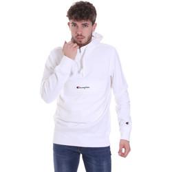 tekstylia Męskie Bluzy Champion 214722 Biały