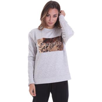 tekstylia Damskie Bluzy Calvin Klein Jeans K20K202453 Szary