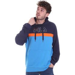 tekstylia Męskie Bluzy Fila 683181 Niebieski