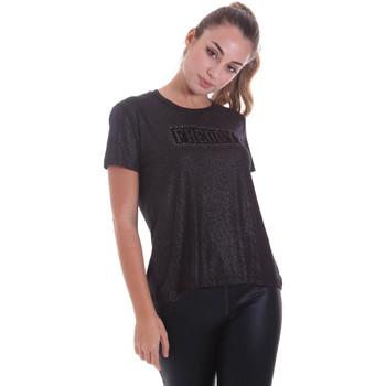 tekstylia Damskie T-shirty z krótkim rękawem Freddy F0WALT2 Czarny