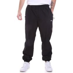 tekstylia Męskie Spodnie dresowe Fila 687995 Czarny