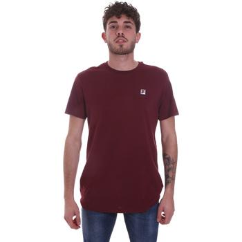tekstylia Męskie T-shirty z krótkim rękawem Fila 682393 Czerwony