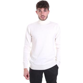 tekstylia Męskie Swetry Sseinse MI1620SS Biały