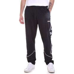 tekstylia Męskie Spodnie dresowe Fila 687707 Czarny