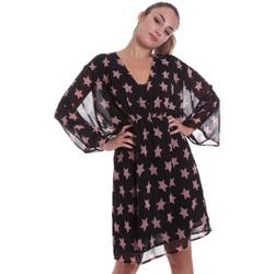 tekstylia Damskie Sukienki krótkie Liu Jo WF0193 T0110 Czarny