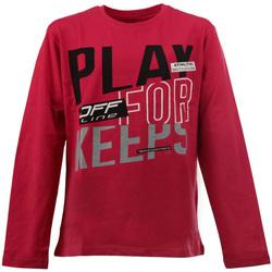 tekstylia Dziecko T-shirty z długim rękawem Losan 023-1627AL Czerwony