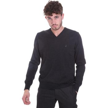 tekstylia Męskie Swetry Navigare NV11006 20 Czarny