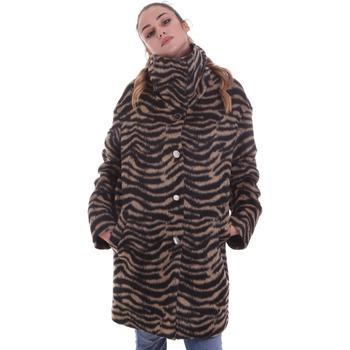 tekstylia Damskie Płaszcze Liu Jo WF0231 T4572 Czarny