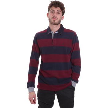 tekstylia Męskie T-shirty i Koszulki polo Navigare NV30029 Czerwony