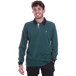 tekstylia Męskie Koszulki polo z długim rękawem Navigare NV32023 Zielony
