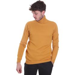 tekstylia Męskie Swetry Sseinse MI1671SS Żółty