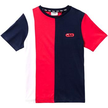 tekstylia Dziecko T-shirty z krótkim rękawem Fila 688008 Czerwony