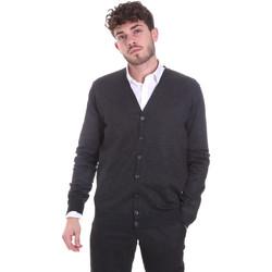 tekstylia Męskie Swetry rozpinane / Kardigany Sseinse MI1621SS Szary