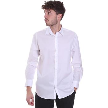 tekstylia Męskie Koszule z długim rękawem Sseinse CI543SS Biały