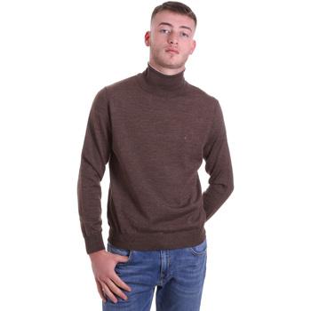 tekstylia Męskie Swetry Navigare NV11006 33 Brązowy