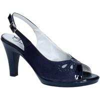 Buty Damskie Czółenka Grace Shoes E8174 Niebieski