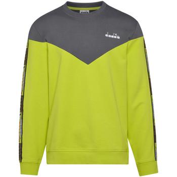 tekstylia Męskie Bluzy Diadora 502176428 Zielony