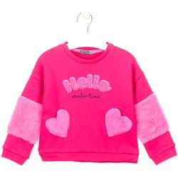 tekstylia Dziewczynka Bluzy Losan 026-6023AL Różowy