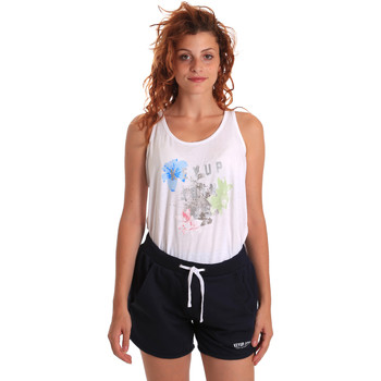 tekstylia Damskie Zestawy dresowe Key Up 5K78A 0001 Biały