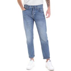 tekstylia Męskie Jeansy straight leg Antony Morato MMDT00226 FA700111 Niebieski