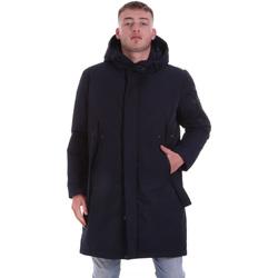 tekstylia Męskie Płaszcze Antony Morato MMCO00691 FA600199 Niebieski
