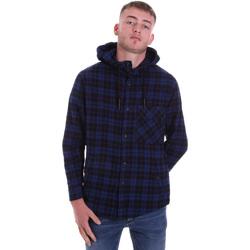 tekstylia Męskie Koszule z długim rękawem Antony Morato MMSL00636 FA410149 Niebieski