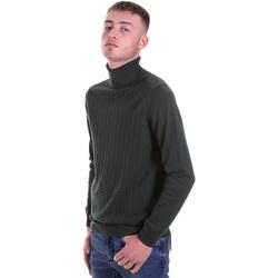 tekstylia Męskie Swetry Antony Morato MMSW01151 YA200066 Zielony