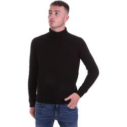 tekstylia Męskie Swetry Antony Morato MMSW01141 YA200066 Czarny