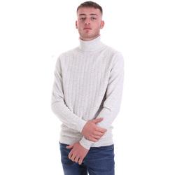 tekstylia Męskie Swetry Antony Morato MMSW01151 YA200066 Biały