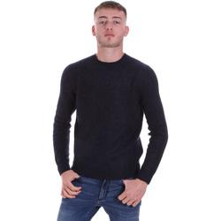 tekstylia Męskie Swetry Antony Morato MMSW01107 YA500063 Niebieski