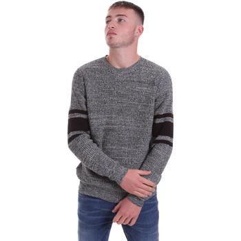 tekstylia Męskie Swetry Antony Morato MMSW01127 YA200066 Czarny