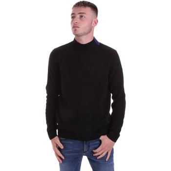 tekstylia Męskie Swetry Antony Morato MMSW01138 YA400133 Czarny