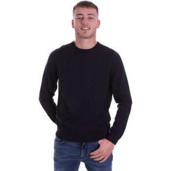 tekstylia Męskie Swetry Antony Morato MMSW01149 YA200066 Niebieski