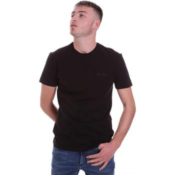 tekstylia Męskie T-shirty z krótkim rękawem Antony Morato MMKS01855 FA120022 Czarny