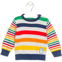 tekstylia Dziecko Swetry Losan 027-5003AL Szary