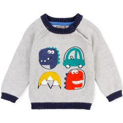 tekstylia Dziecko Swetry Losan 027-5004AL Szary
