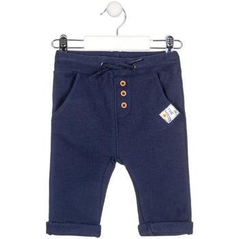 tekstylia Dziecko Chinos Losan 027-6020AL Niebieski