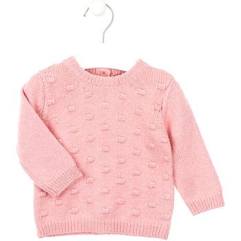 tekstylia Dziecko Swetry Losan 028-5003AL Różowy