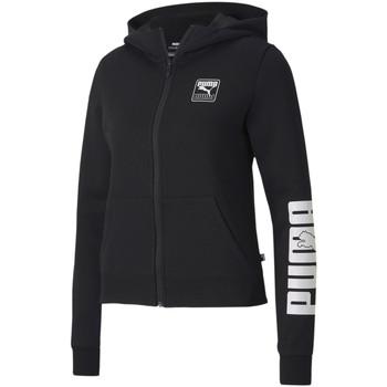 tekstylia Damskie Bluzy dresowe Puma 583567 Czarny
