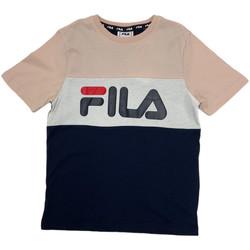 tekstylia Dziecko T-shirty z krótkim rękawem Fila 688141 Różowy