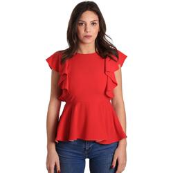 tekstylia Damskie Topy / Bluzki Gaudi 811FD45001 Czerwony