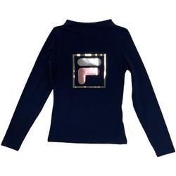 tekstylia Dziecko T-shirty z długim rękawem Fila 688102 Niebieski