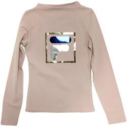 tekstylia Dziecko T-shirty z długim rękawem Fila 688102 Beżowy