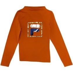 tekstylia Dziecko T-shirty z długim rękawem Fila 688102 Pomarańczowy