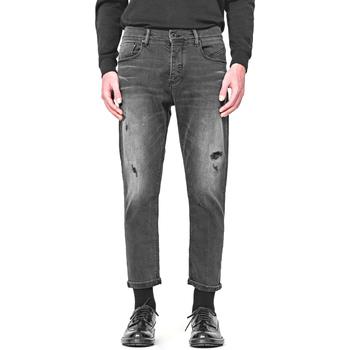 tekstylia Męskie Jeansy straight leg Antony Morato MMDT00251 FA750284 Czarny